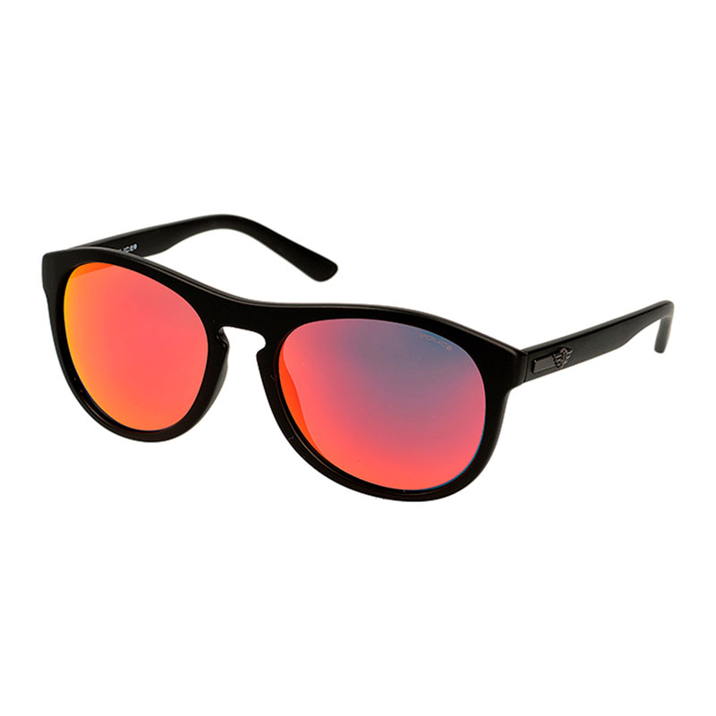 OCCHIALI SOLE CARBON BLACK-RED POLICE