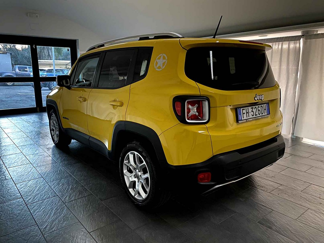 Jeep Renegade 1.6 Mjt 120 CV Limited 2015 0