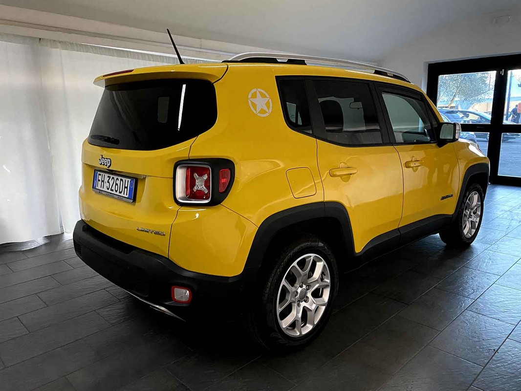 Jeep Renegade 1.6 Mjt 120 CV Limited 2015 4