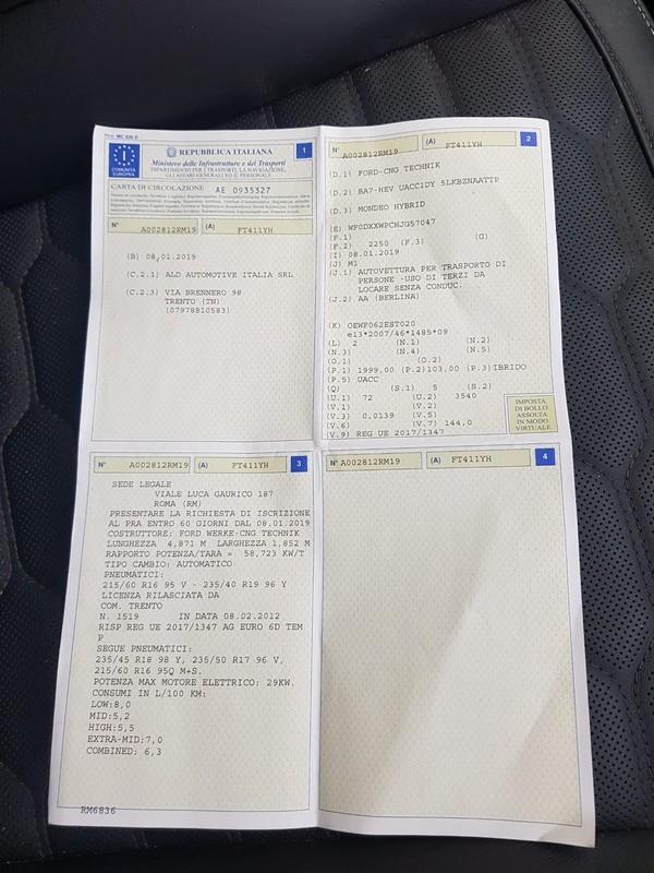 Ford Mondeo Hybrid 28