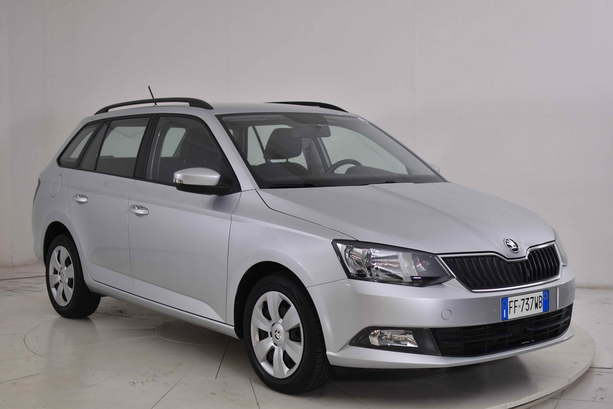 Skoda Fabia SW 1.4 TDI 90 CV Executive Wagon 2015 3