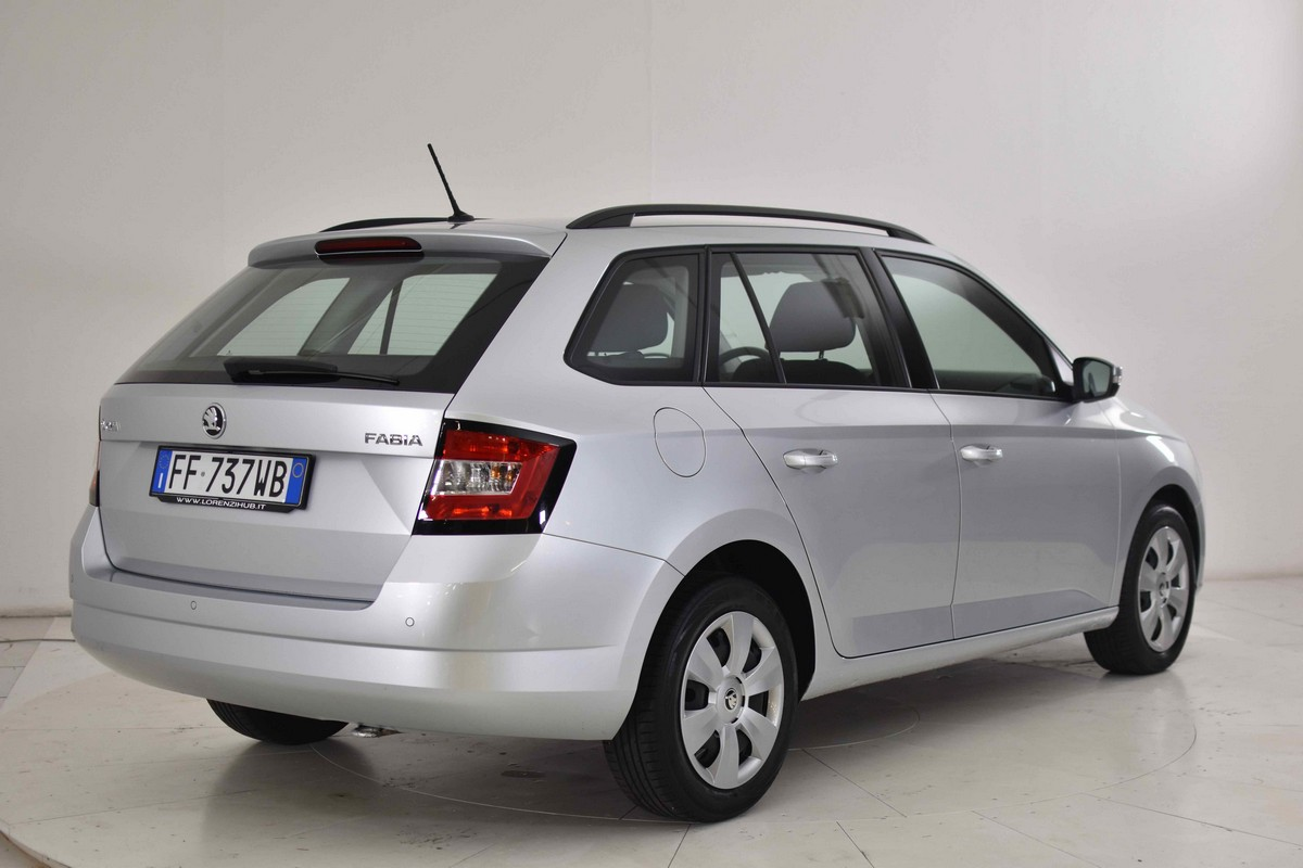 Skoda Fabia SW 1.4 TDI 90 CV Executive Wagon 2015 5