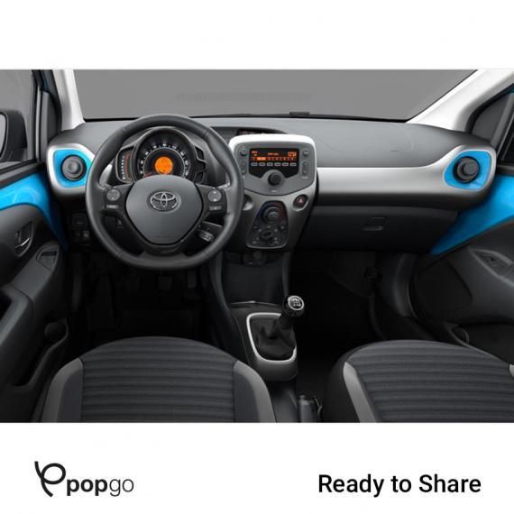 Toyota Aygo Connect 1.0 VVT-i 72CV x-business MMT 5p 2019 4