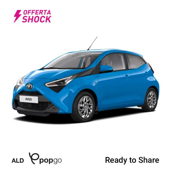 Toyota Aygo Connect 1.0 VVT-i 72CV x-business MMT 5p 2019