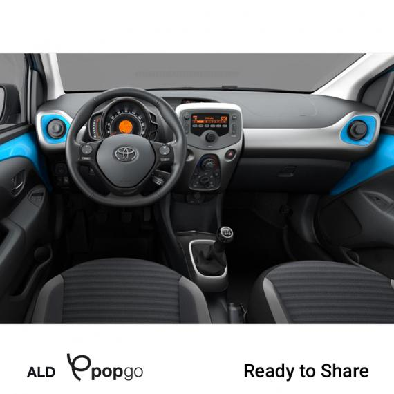 Toyota Aygo Connect 1.0 VVT-i 72CV x-business MMT 5p 2019 2
