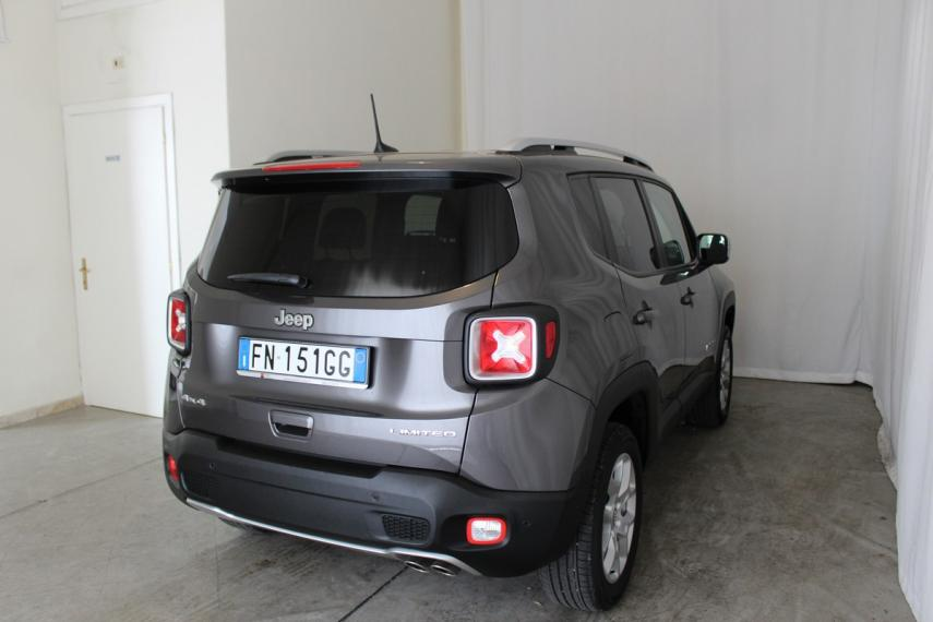 Jeep Renegade 2.0 Mjt 140 CV 4WD Active Drive Limited 2017 4