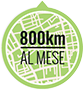 800 km